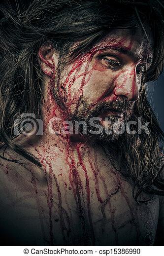 Christianity, viacrucis concept, religion picture - csp15386990