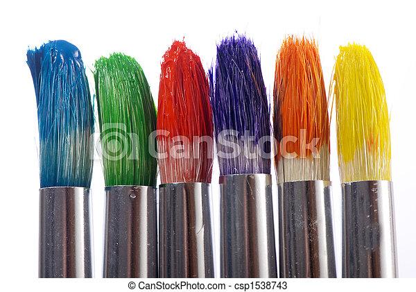 Paintbrushes - csp1538743