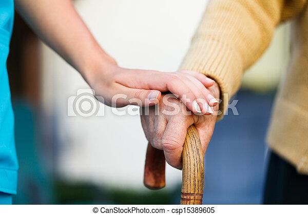 Helping the Elderly - csp15389605
