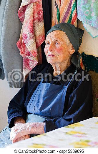Elderly Woman - csp15389695