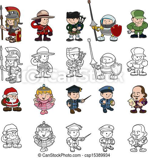 Cartoon people Stock Illustration Images. 422,021 Cartoon people ...