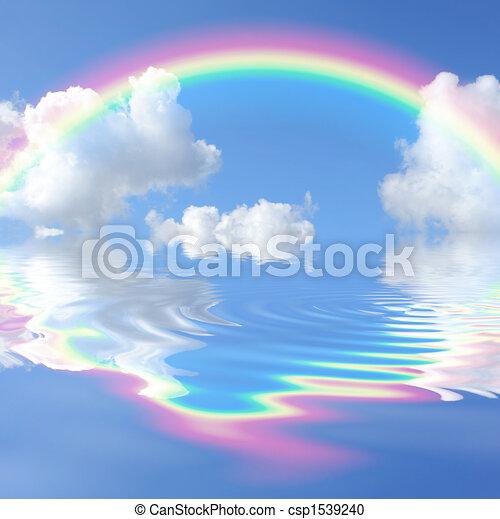 Rainbow Beauty - csp1539240