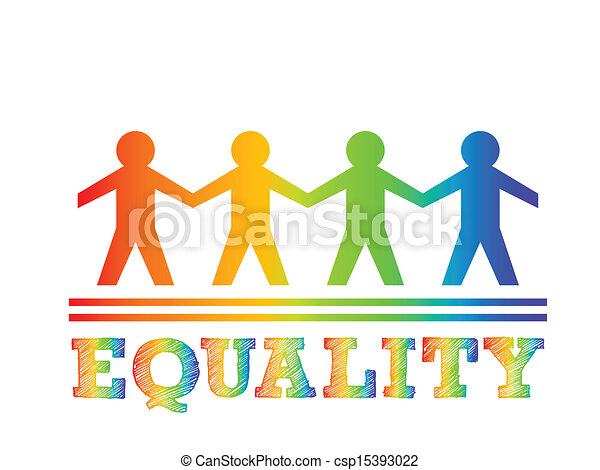 Equality And Diversity Symbol Equality - Illustration of
