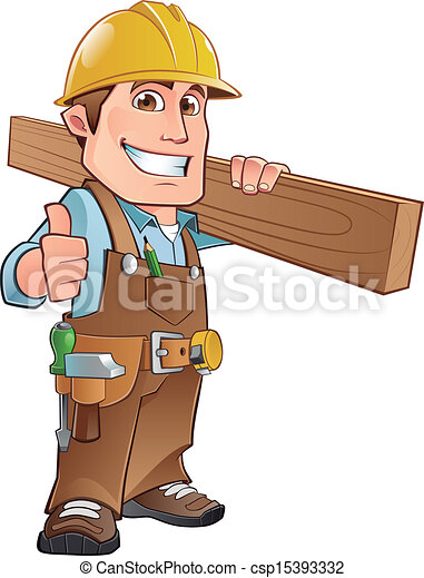 Clip Art Carpenter Clipart carpenter stock illustration images 10417 carpenter