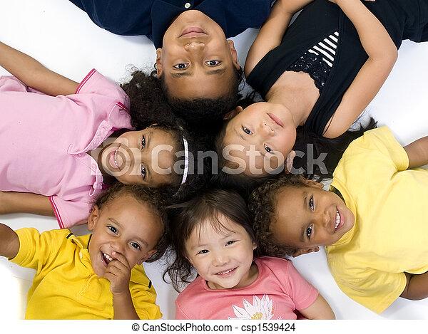 Childhood Kids - csp1539424