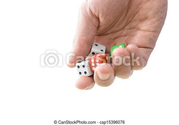 Gambling concept - csp15396076