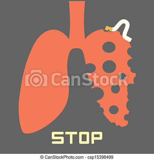 Vector Clip Art of Stop Smoking csp14884710 - Search Clipart ...