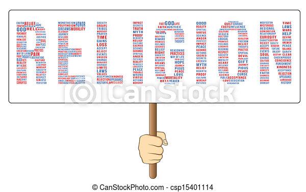 Religion Keywords - csp15401114