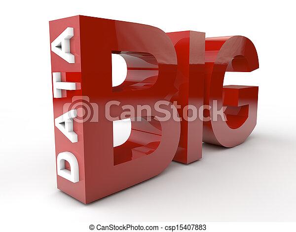 groß, Daten - csp15407883