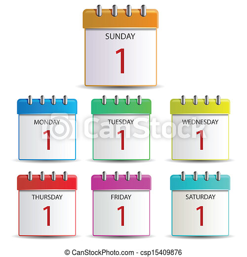 Day week Illustrations and Clipart. 30,337 Day week royalty free ...