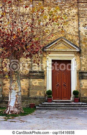 Church door - csp15416938