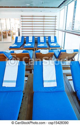 Banco de fotografias de azul toalhas azul chaise for Chaise longue azul turquesa