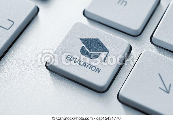 教育, オンラインで - csp15431770