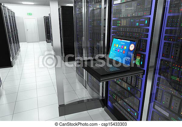 Terminal in server room - csp15433303