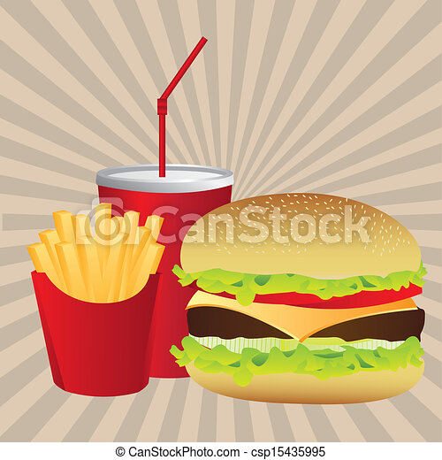 fast food - csp15435995