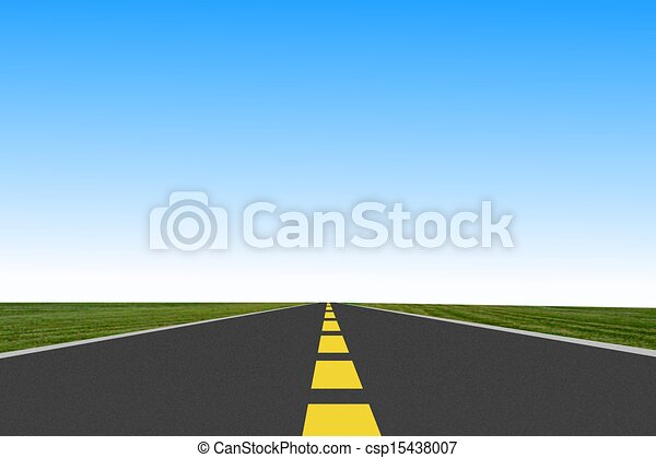 long road ahead royalty free stock illustration