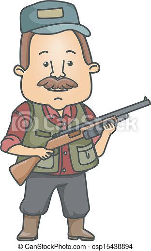Funny Hunter Clipart