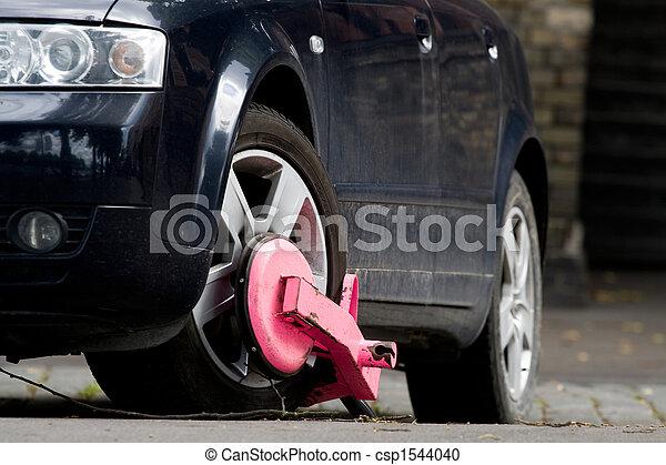 Clamped car - csp1544040