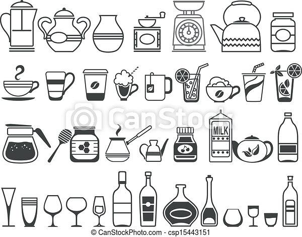 Clipart vettoriali di cucina attrezzi utensili vettore for Attrezzi in cucina