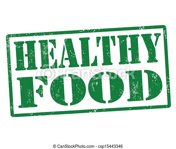 Healthy food stamp - csp15443346