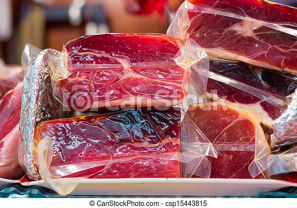 Highland ham - csp15443815