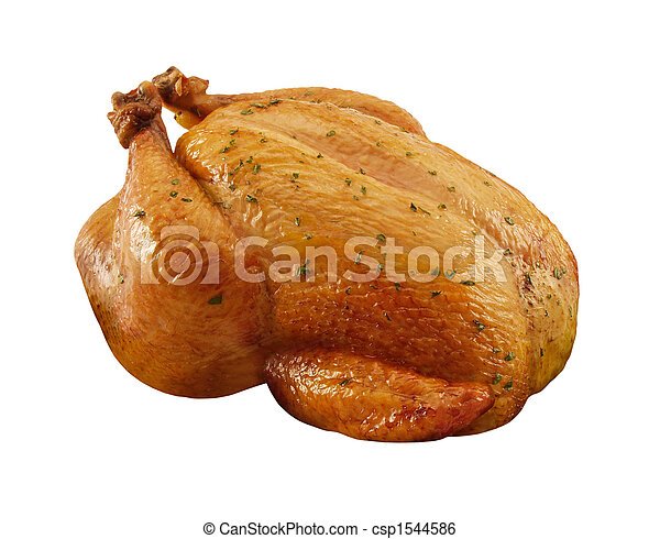 Roasted Chicken - csp1544586