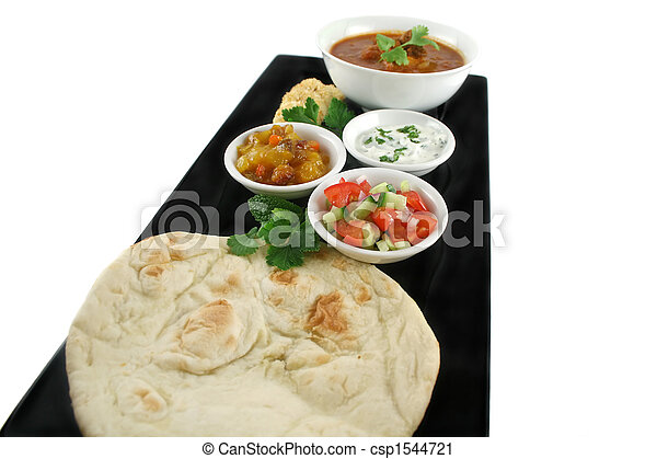 Feast Of Indian Food - csp1544721