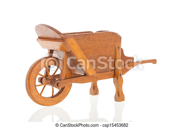 Pictures of Wooden wheelbarrow - Classic wooden ...