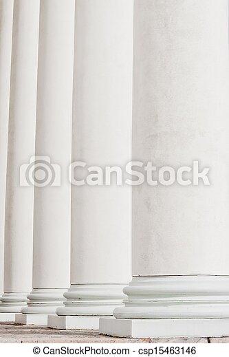 historic columns - csp15463146