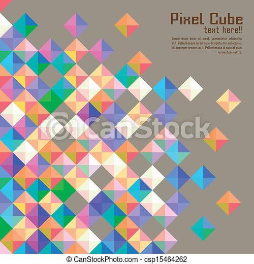 background modern pixel wallpaper - photo #37