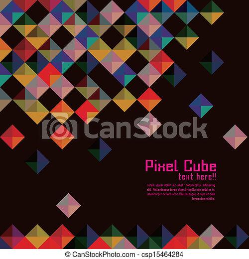 background modern pixel wallpaper - photo #10
