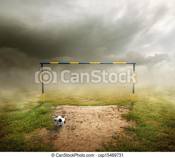 Football field - csp15469731