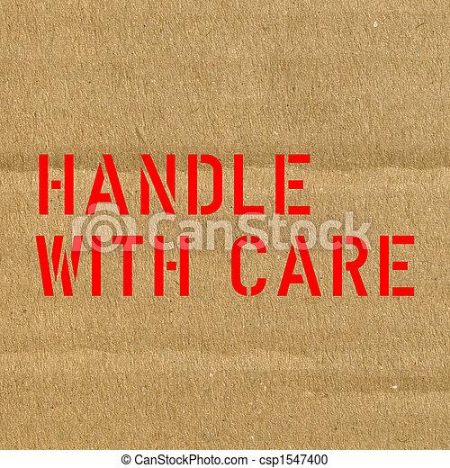 Fragile corrugated cardbo - csp1547400