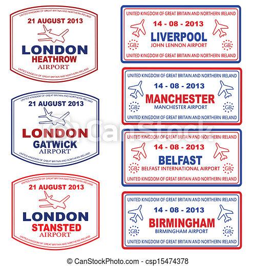 UK Passport Clip Art