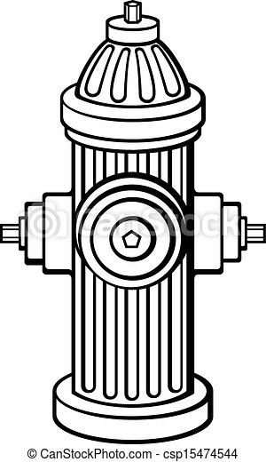 Clip Art Fire Hydrant Clip Art eps vector of fire hydrant csp15474544 search clip art csp15474544