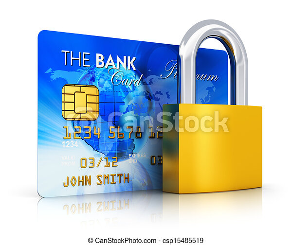 Banking security concept - csp15485519