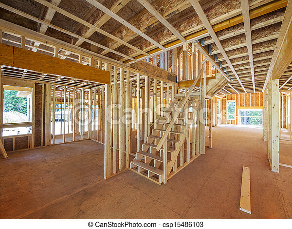 New residential home construction  - csp15486103