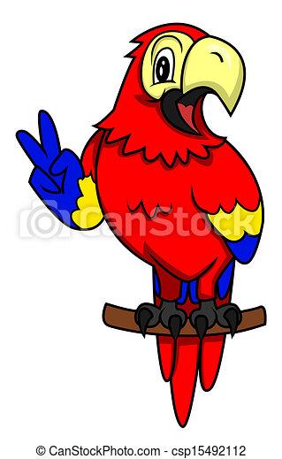 Vektor - parrot