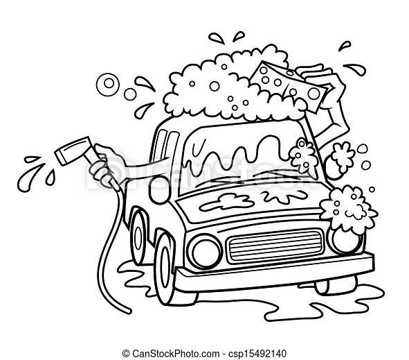 eps vector of car wash csp15492140 search clip