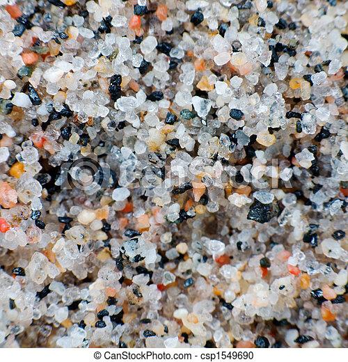 Macro-photo of a quartz sand - csp1549690