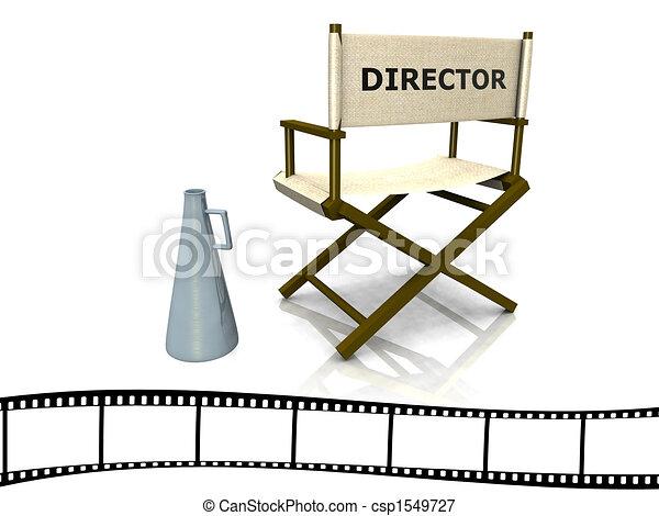 Director chair - csp1549727