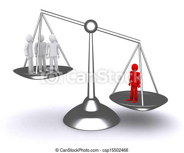 people in balance, powerful argument, law, leader - csp15502466