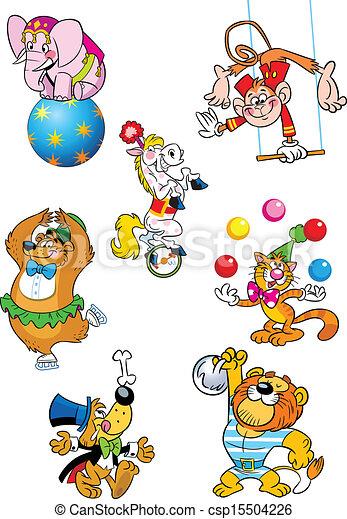 circus animals - csp15504226