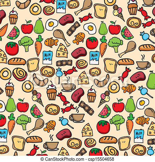 Eat Healthy Food Drawing Vector Healthy Food