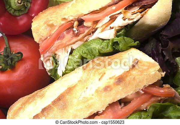 gourmet chicken sandwich - csp1550623