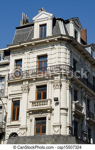 Brussel Historic Building - csp15507324