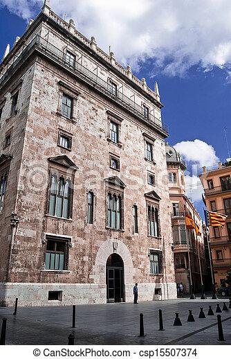 Valencia's Historic Building - csp15507374