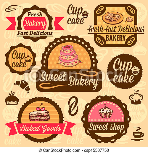 Bakery Goods Vector Bakery Goods Labels