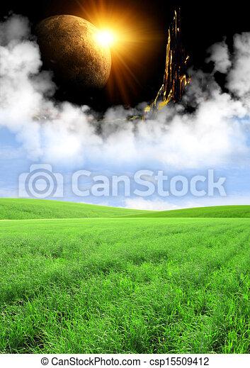 Portal to fantasy world - csp15509412