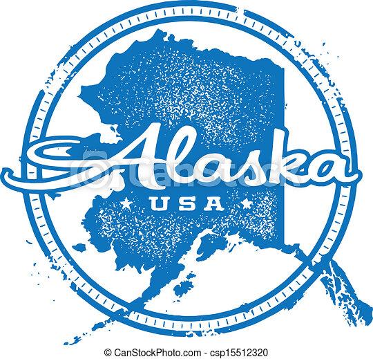 Clip Art Alaska Clip Art state alaska illustrations and clipart 1407 royalty clip artby rusak51240 vintage usa stamp style distressed